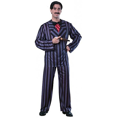 Rubie's Men's The Addams Family, Gomez Adams Adult Costume, Black, ()