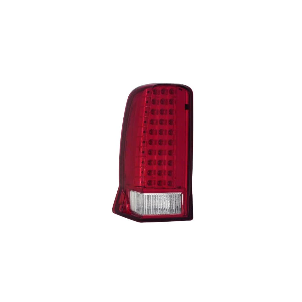2002 2006 Cadillac Escalade, 2003 2006 Cadillac Escalade Esv Led Tail Lights Red/clear (W/ Cap)