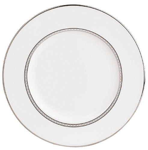 Lenox Murray Hill Platinum Banded Bone China 9 Accent Plate