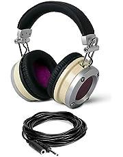 Avantone Pro MP1 Mixphones Bundle con cable de extensión de audífonos de 10 pies 1/4 pulgadas (2 artículos)