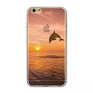 Iphone 6 Plus Case, Boomy - Beautiful Scenery Series Design Transparent Acrylic Pc Back and TPU Edges Hybrid Protective Case Cover for Iphone 6 Plus 5.5 Inch (Beautiful Dream Scenery Pattern) (Color 10)