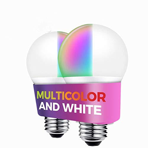 Premier Accessory Group Smart Bulb Alexa Google Home Certified Compatible 1050 Lumens Smarthome Wireless Lightbulbs 11W…