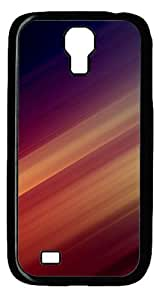 Cool Painting Illusion Gold Red Abstract Polycarbonate Hard Case Cover for Samsung Galaxy S4/I9500