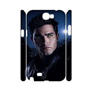HXYHTY Teen Wolf Customized Hard 3D Case For Samsung Galaxy Note 2 N7100