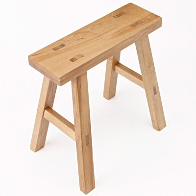 Prime Amazon Com Muji Solid Wood Bench Oak S W48 5D30H44Cm Creativecarmelina Interior Chair Design Creativecarmelinacom