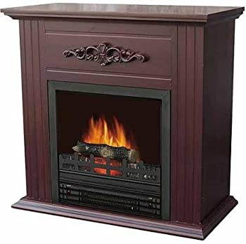 Electric Fireplace with 28