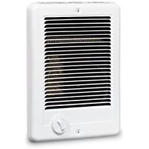 Cadet Com-Pak 1500W, 120V Most Popular Electric Wall Heater with Thermostat, White