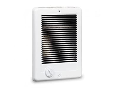 Cadet Com-Pak 1500W, 120V Most Por Electric Wall Heater with Thermostat, on