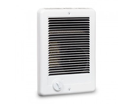 Cadet Com-Pak 1500W, 120V Most Popular Electric Wall Heater with Thermostat, White (Ceramic Heater Wall Mount)