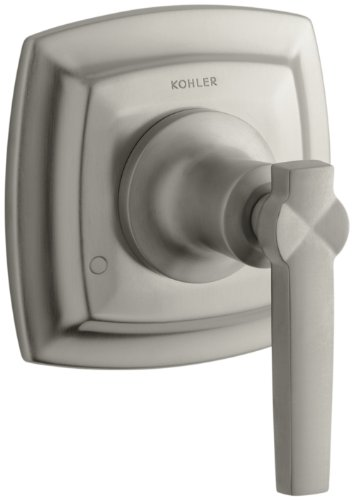 KOHLER K-T16242-4-BN Margaux Transfer Valve Trim with Lever Handle, Vibrant Brushed Nickel (Margaux Nickel Handle Single)