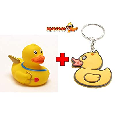 Rubber Duck Amor | Bathduck | Duckshop | L: 8 cm : Baby