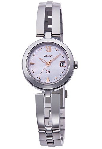 ORIENT iO Io NATURAL and PLAIN LIGHT CHARGE watch RN-WG0003S Ladies