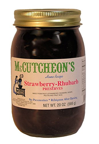 McCutcheon`s Strawberry Rhubarb Preserves