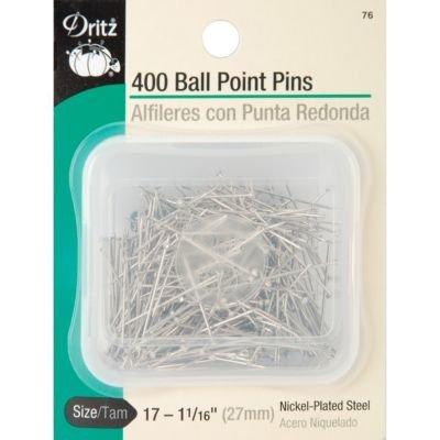 - Dritz Ball Point Pins-Size 17 400/Pkg