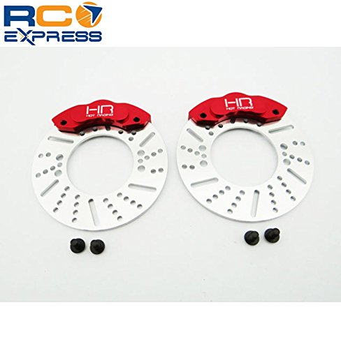 Hot Racing RVO21BR02 Disc Brake 49mm Rotors and Calipers for Rvo21xg** - 1/10