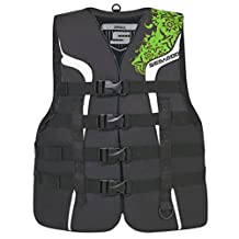 BRP Sea-Doo Ladies' Nylon Motion Life Jacket Vest PFD Sea-Doo GREEN LARGE by Sea-Doo