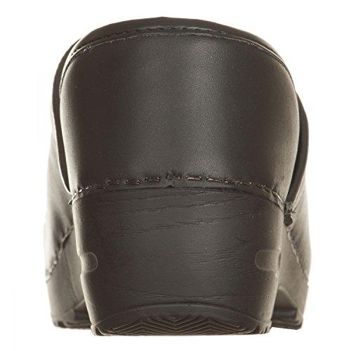 VialeScarpe Ss-7488vtne_41 - Zuecos de Piel para mujer negro negro 41 negro