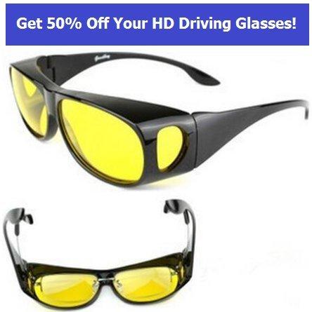 d15b3805599 Galleon - 2Pcs HD Night Vision Ultra Sunglasses