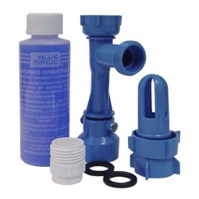 Blue Magic WATERBED DRAIN AND FILL KIT with CONDITIONER ()
