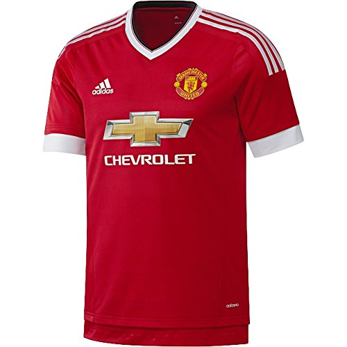 adidas Manchester United FC Home Authentic Jersey-Red (L) ()