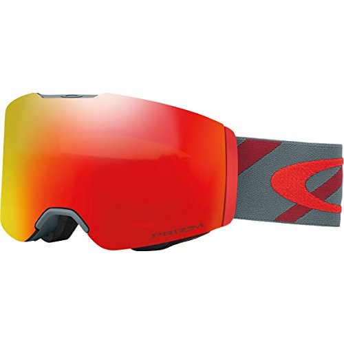 Oakley Fall Line Asian Fit Snow Goggles, Hazard Bar Slate Brick, - Asian What Oakley Is Fit