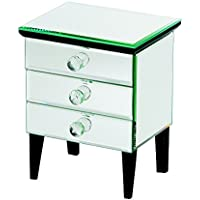DIANA BOX 3 DRAWERS, 8X5.25X6.5
