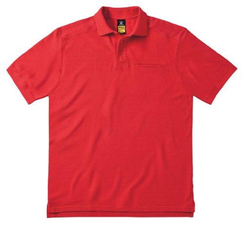 Arbeits-Poloshirt 'Skill Pro' mit Brusttasche, Farbe:Red;Größe:3XL 3XL,Red