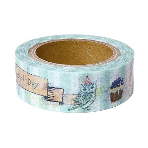 (Green Flash Japanese Washi Masking Paper Tape/Home Party)