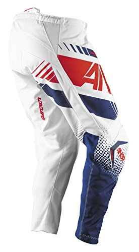 Answer Syncron Youth Pants, Distinct Name: White/Red, Gender: Boys, Primary Color: White, Size: 22, Size Segment: (Red Youth Syncron Pants)