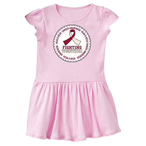 inktastic - Fighting Together- Head and Toddler Dress 5/6 Ballerina Pink 32210