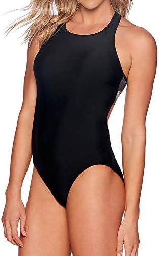 Reebok Lifestyle Women's Swimwear Bold Dynamic Mono Kini
