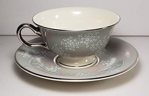 - Castleton Lace Cup and Saucer Set