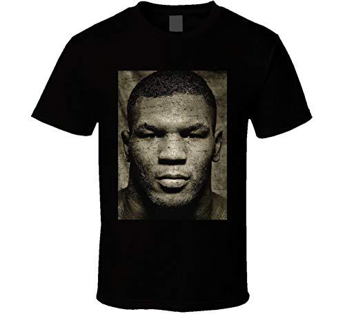 Vintage Mike Tyson Photograph T Shirt XL Black