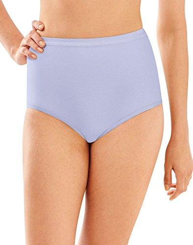 Bali Full Cut Fit Cotton Briefs Lavender Moon - Brief Full