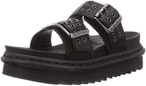 Dr. Martens Unisex Slide Sandal, Black