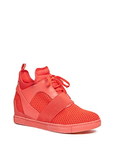 Sneakers by Womens G Wedge Womens Red Nicki GUESS Red by Sneakers G GUESS Wedge Nicki A8UwqOO