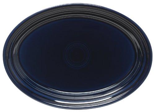 Fiesta 9-5/8-Inch Oval Platter, Cobalt