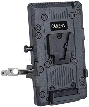 CAME-TV V-Mount Plate with Clamp