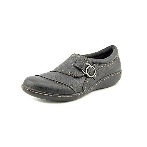 Clarks Damen Ashland Indigo Black Loafers Schwarz