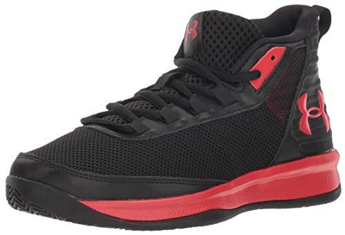 - Under Armour Boys' Pre School Jet 2018 Basketball Shoe, Black (001)/Red 3