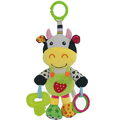 CAIJ Baby Toys educational toys Cow plush with music for Newborns by CAIJ