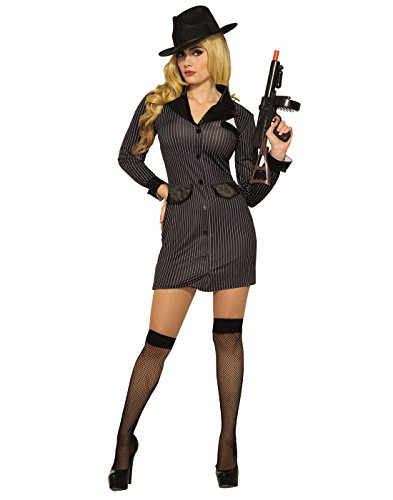 Forum Novelties Womens Gangster'S Girl Costume M/L -