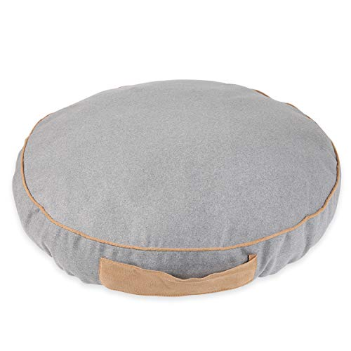 (JEMA Pet Dog Bed Outdoor | Mat Comfortable Soft Crate Pad for Dogs & Cats, Removable Washable Cover, Anti-Slip Waterproof Bottom)