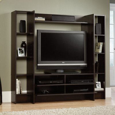 Zipcode Design Angelica Entertainment Center, Cherry Corner Tv Stand Armoire