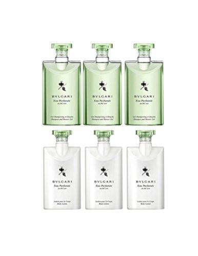 Bvlgari Green Tea (au the vert) Shower Gel and Body Lotion 3 of (Bvlgari Eau Parfumee Au The Vert)