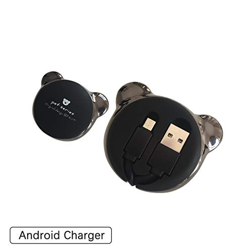 USB Cable 3.3FT Micro USB Phone Charger Fast High-Speed Durable Charger Cord & Syncing Cord Compatible for Christmas Xmas Gift (Black USB Cable for Android Phone)