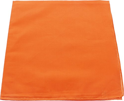 Orange Solid Color Military Bandana (22