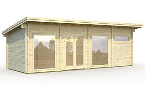 palmako Jardín Casa Violet con ISO verglasung - Heidi 22, 8 m²: Amazon.es: Jardín