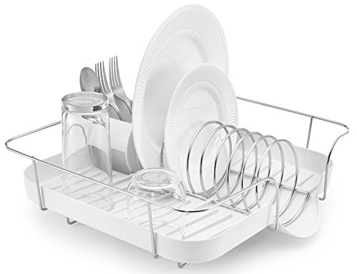 Polder Dish Drying Rack White