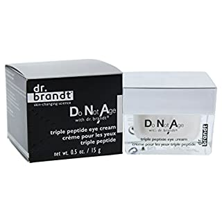 Dr. Brandt Skincare Do Not Age Triple Peptide Eye Cream, 0.5 oz